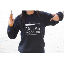 "Sudadera ""Fallas modo on"""