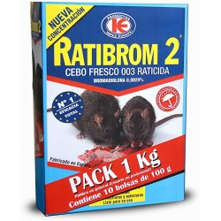 Ratibrom-2 Cebo Fresco Pack...