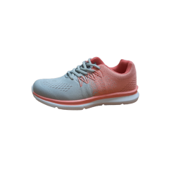 Deportiva Mujer Coral/gris